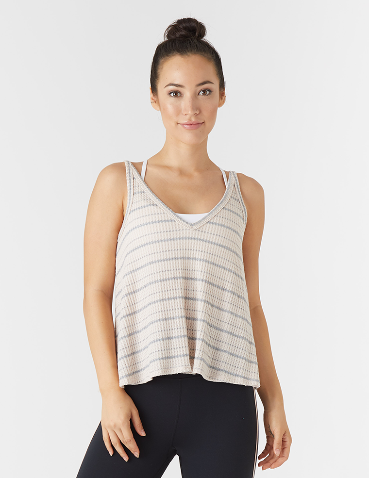Movement Tank: Rosewater Stripe