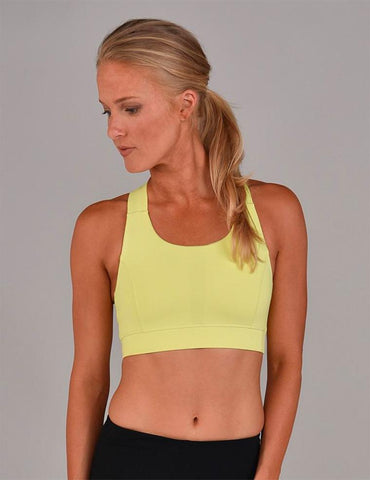 Full Force Bra: Sunny Lime