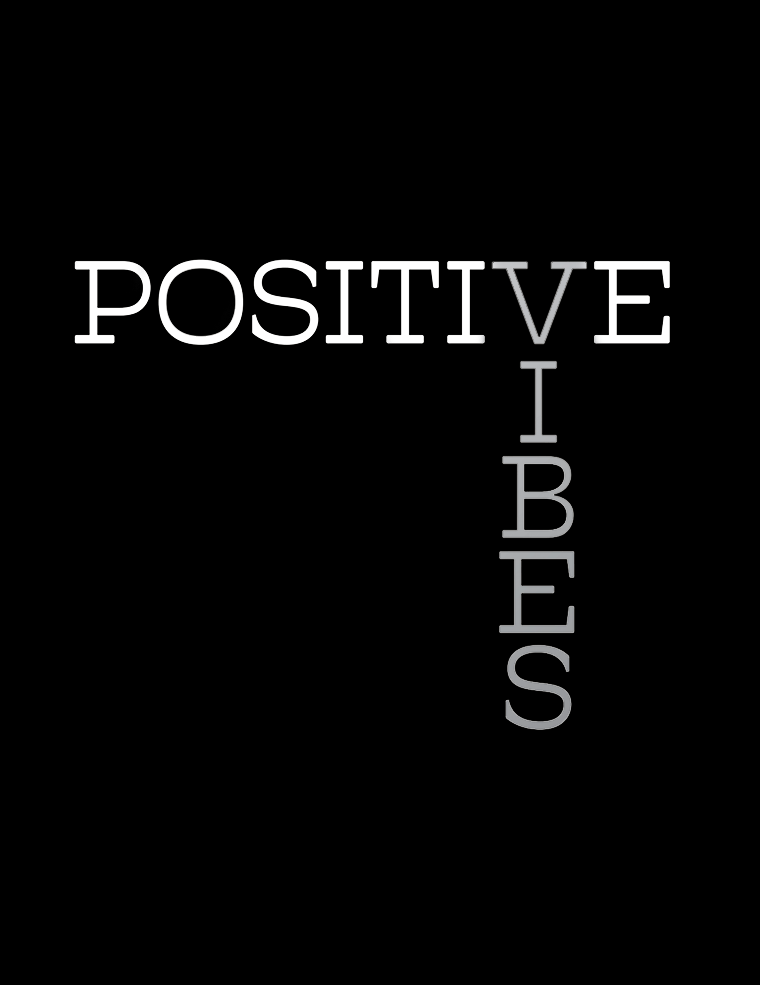 Power Tank: Positive Vibes Black