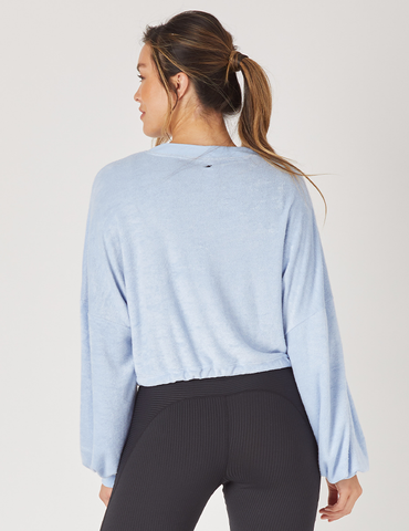 Powder Pullover: Ice Blue
