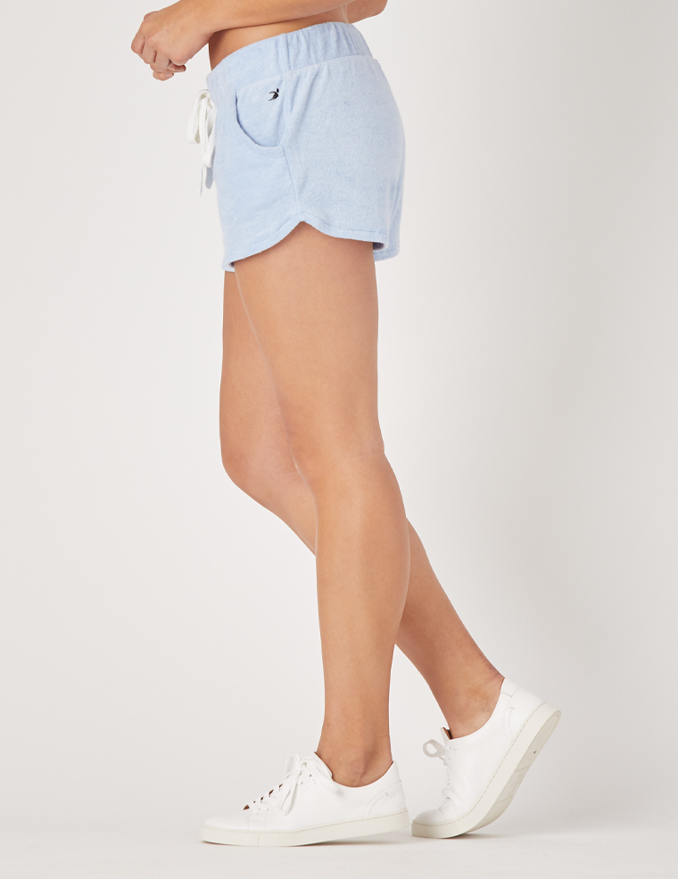 Powder Short: Ice Blue