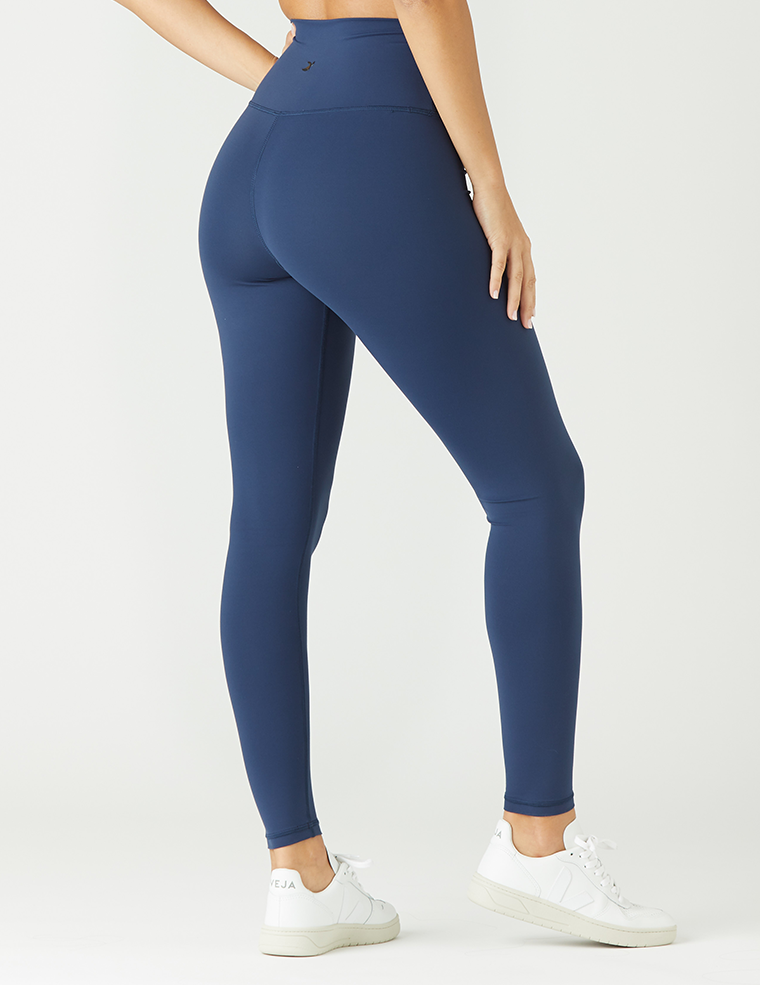 High Waist Pure Legging: Navy