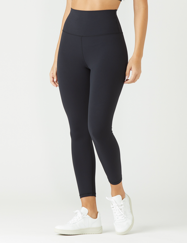 High Waist Pure 7/8: Black