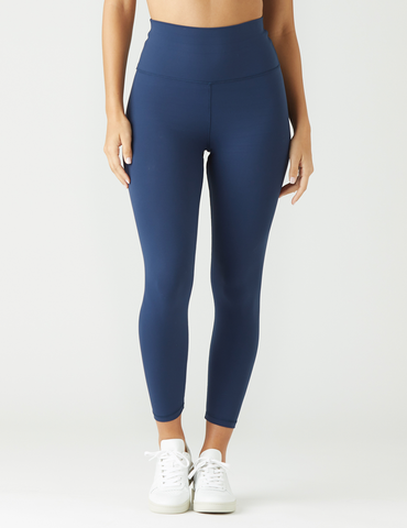 High Waist Pure 7/8: Navy