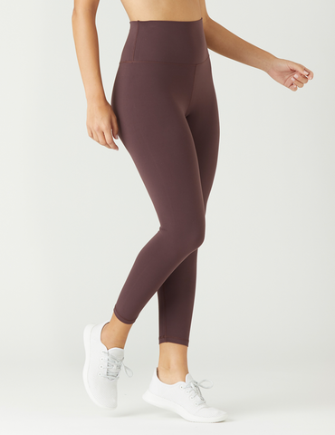 High Waist Pure 7/8: Deep Plum