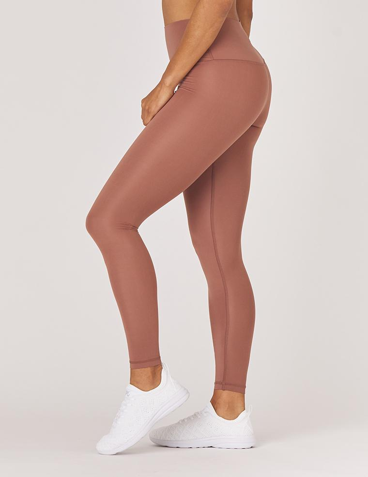 High Waist Pure Legging: Cocoa