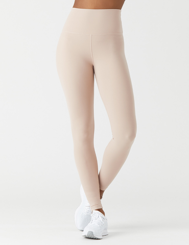 High Waist Pure Legging: Adobe Rose