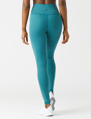 High Waist Pure Legging: Evergreen