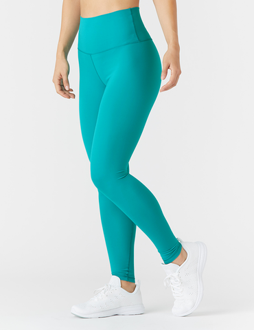 High Waist Pure Legging: Jade