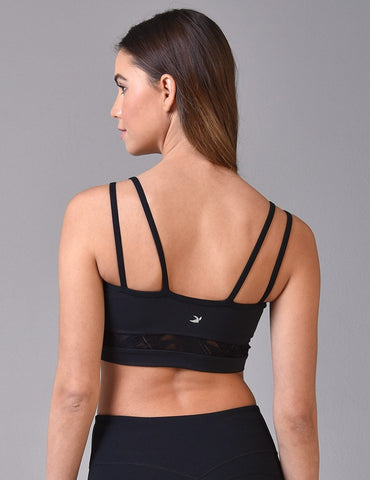 Rhythm Bra: Black