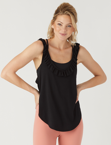 Sacral Tank: Black