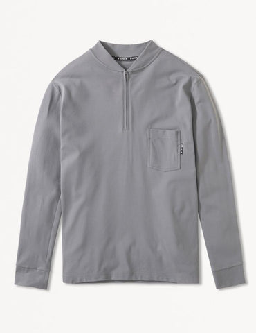 Salinas Henley: Smoke Grey