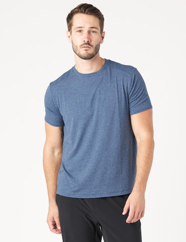 Salton Short Sleeve: Denim Blue