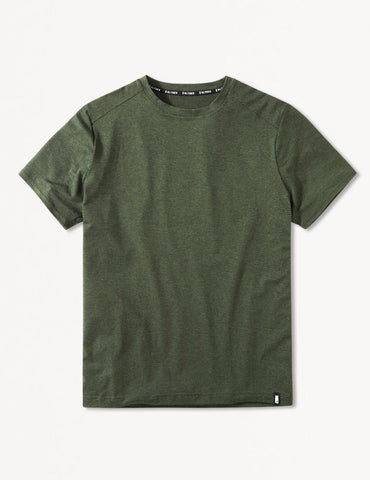 Salton Short Sleeve: Rifle Green Melange