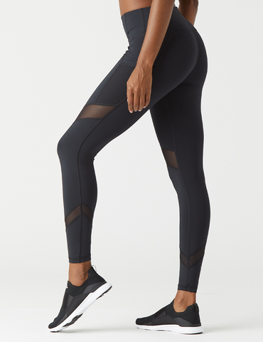 Sculpt Legging: Black