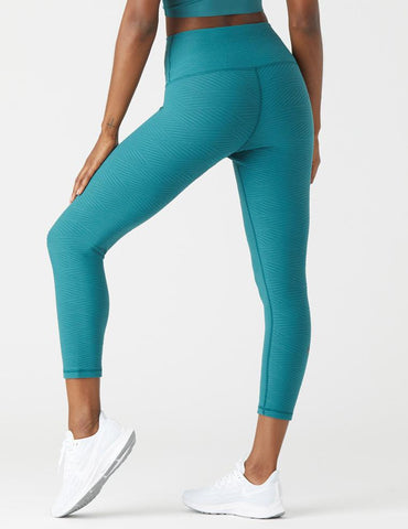 Soothe 7/8 Legging: Evergreen