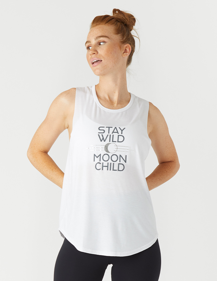 Power Tank: Stay Wild White