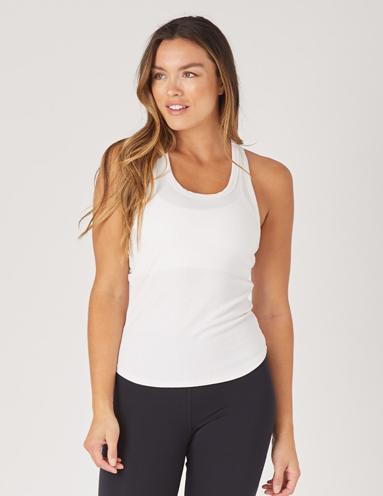 Strength Tank: White