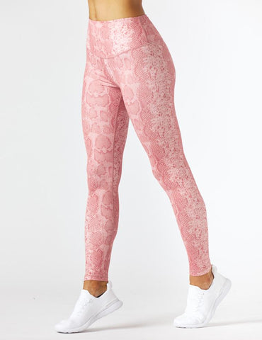 Sultry Legging Print: Clay Snake