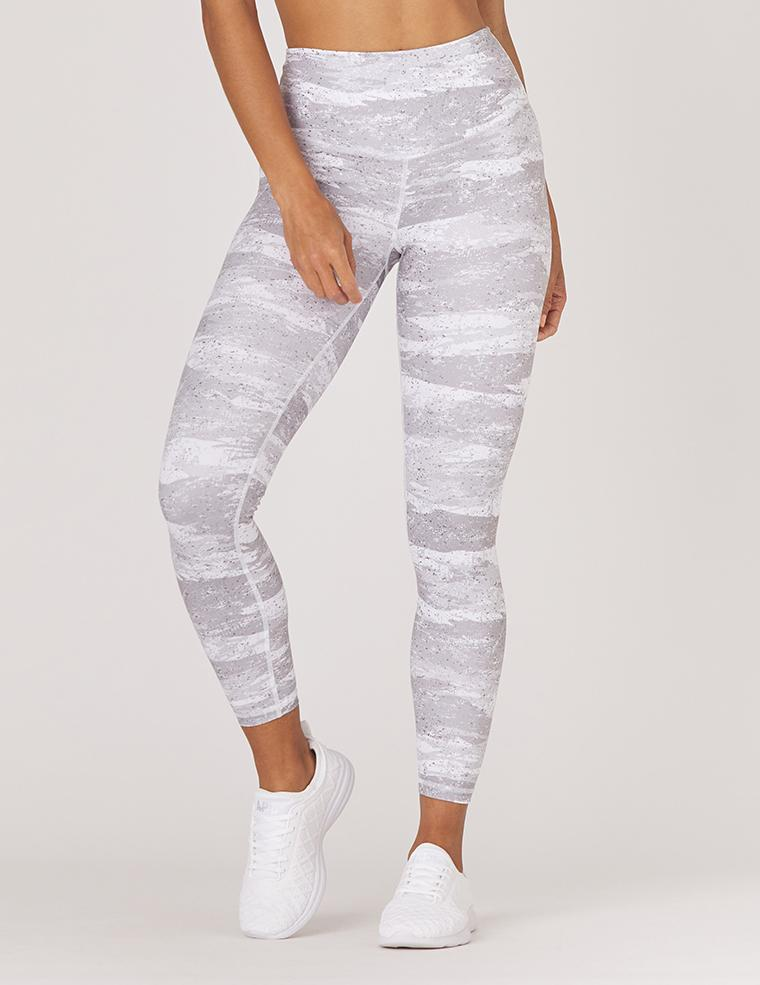 Sultry Legging Print: White Distressed Camo