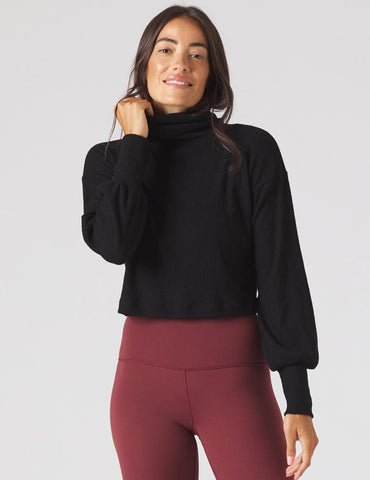 Symphony Sweater: Black