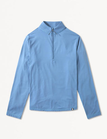 Tahoe 1/4 Zip: Denim Blue