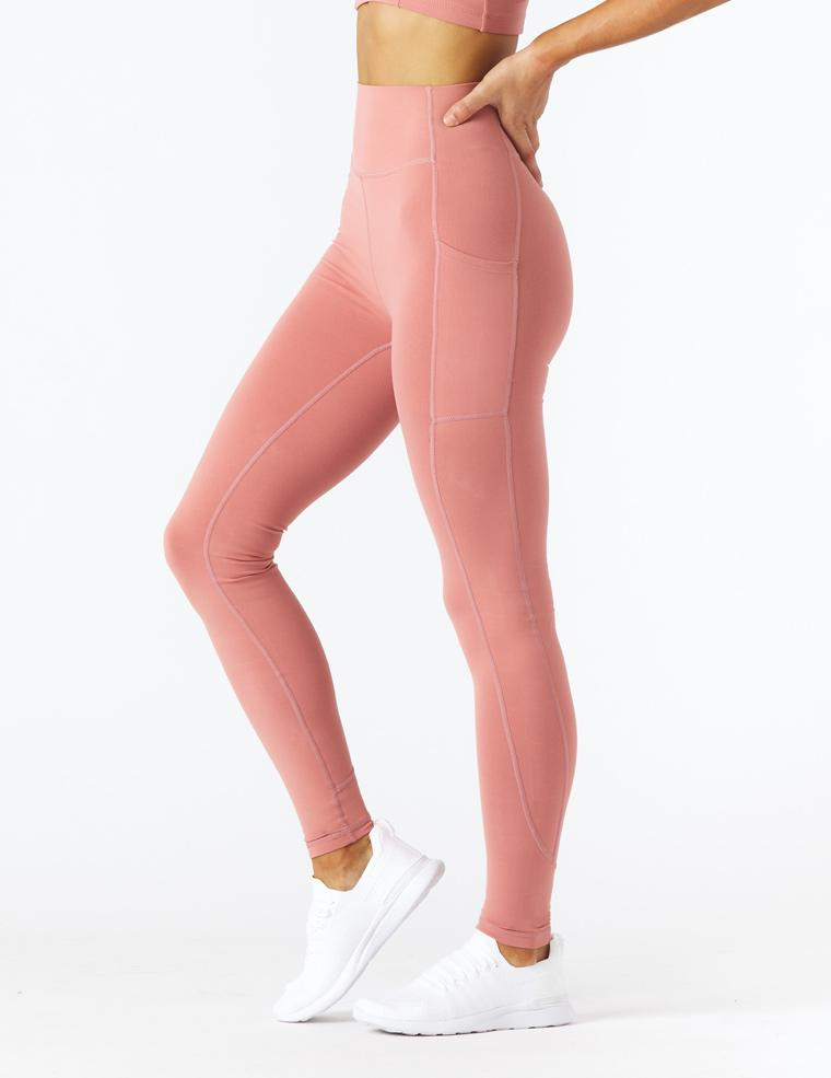 Taper Legging: Clay