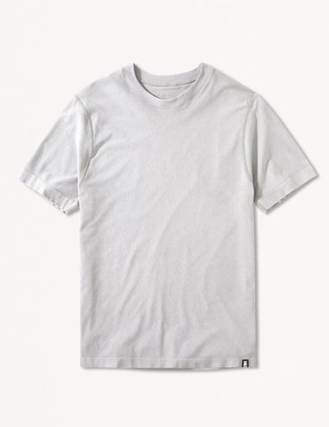 Timor Short Sleeve: Light Heather Grey