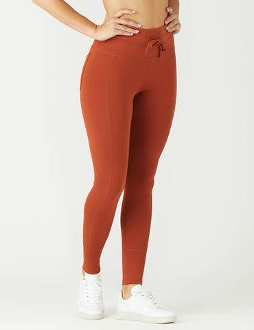 Vagabond Legging: Burnt Amber