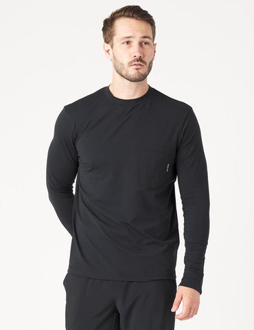 Victoria Long Sleeve: Black