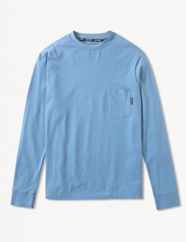 Victoria Long Sleeve: Denim Blue
