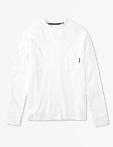 Victoria Long Sleeve: White