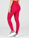 High Waist Pure Legging: Vivid Rose