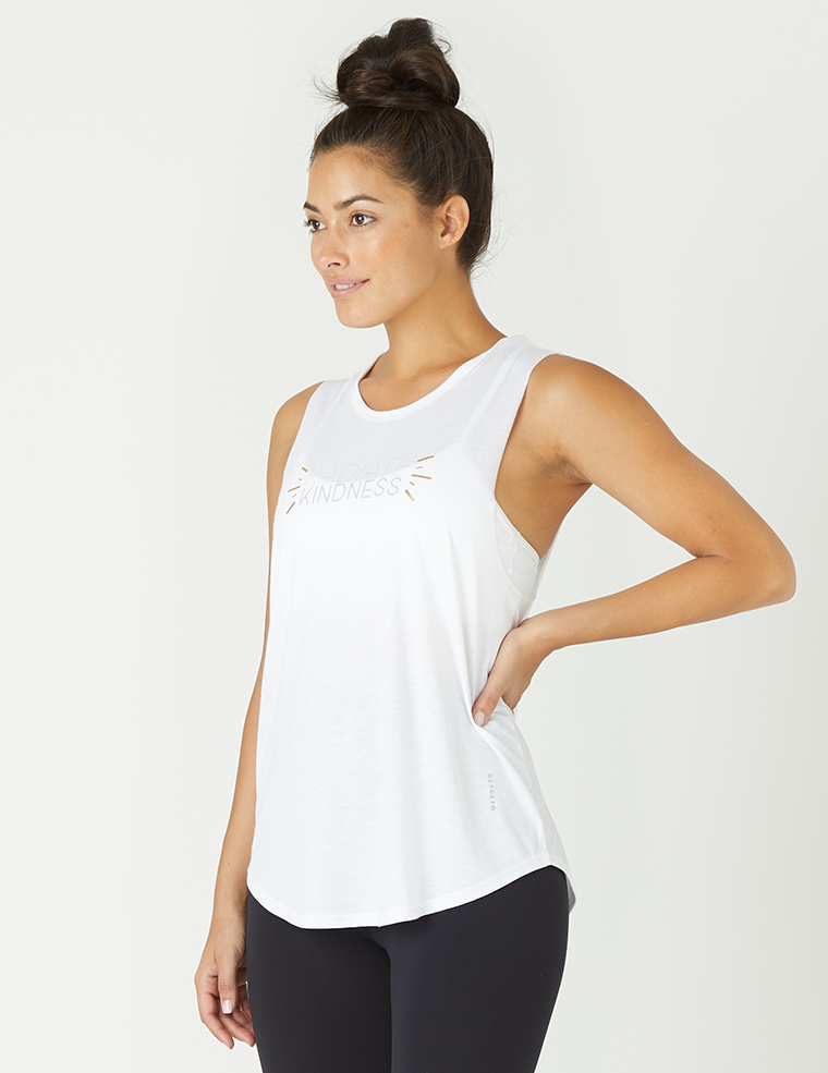 Power Tank: Radiate Kindness White