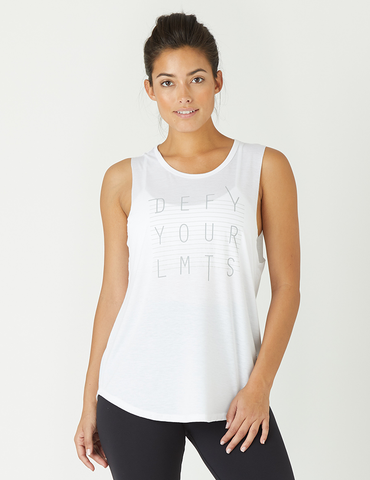 Power Tank: Defy Your Limits White