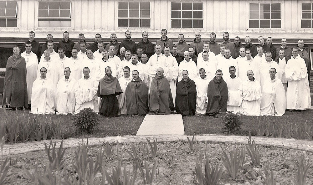The first Monks of the Abbey of the Genesee