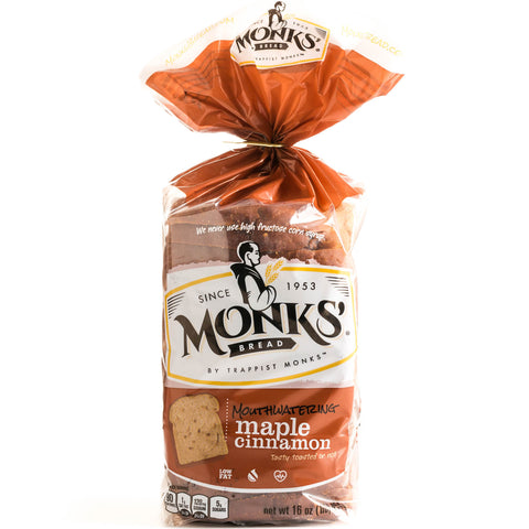 Monks' Maple Cinnamon Bread