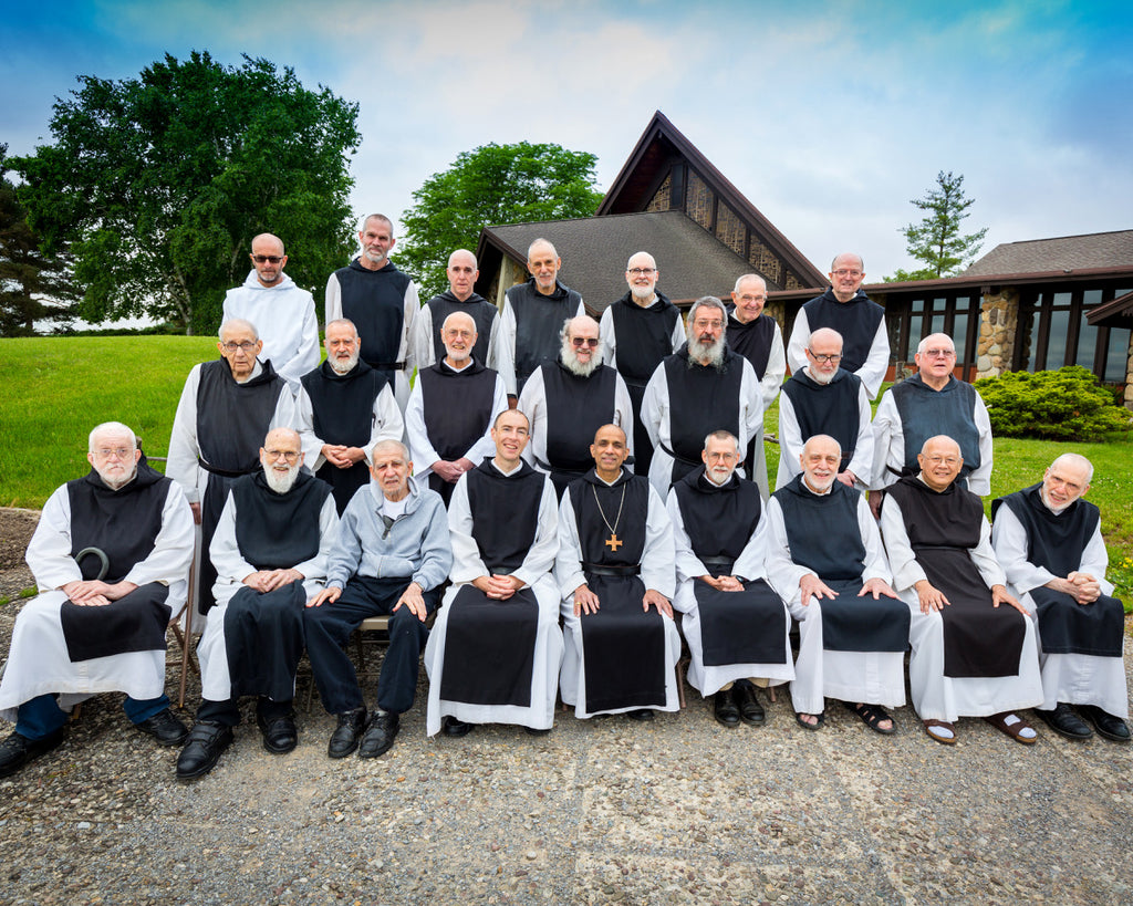 The Monks of The Abbey of the Genesee