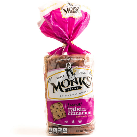 Monks' Raisin Cinnamon Bread
