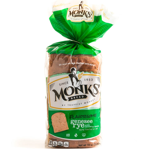 Monks' Genesee Rye Bread