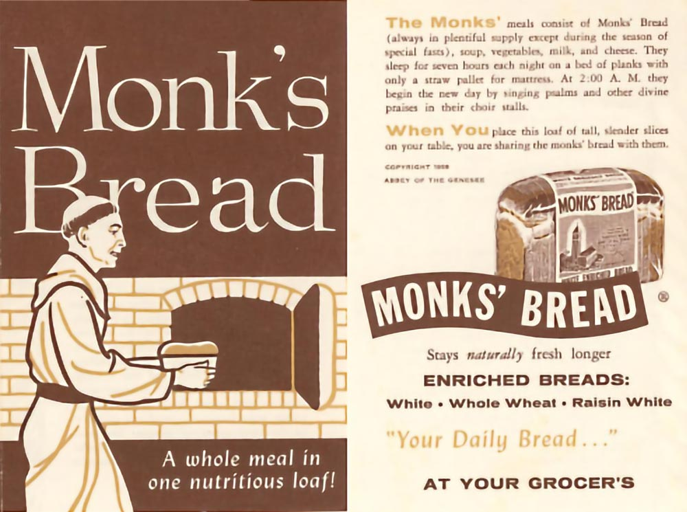 Early Monks' Bread Wrapper