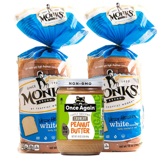 2 Bread 1 Peanut Butter Bundle | Shipping Included