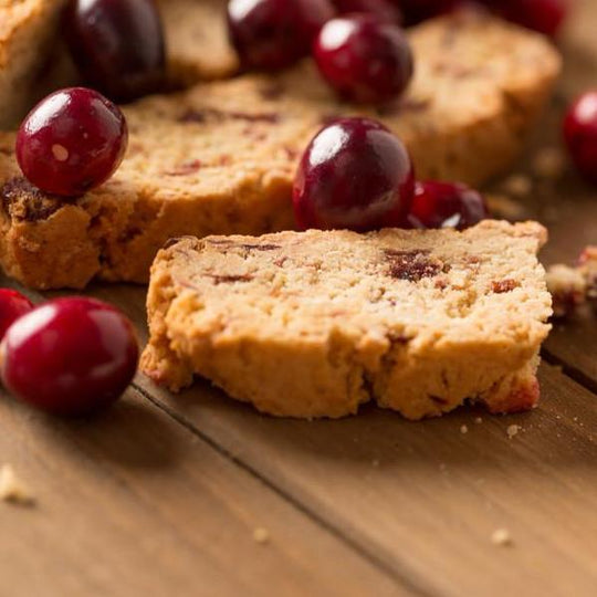 Monks' Cranberry Orange Biscotti (Case of 16 Boxes)