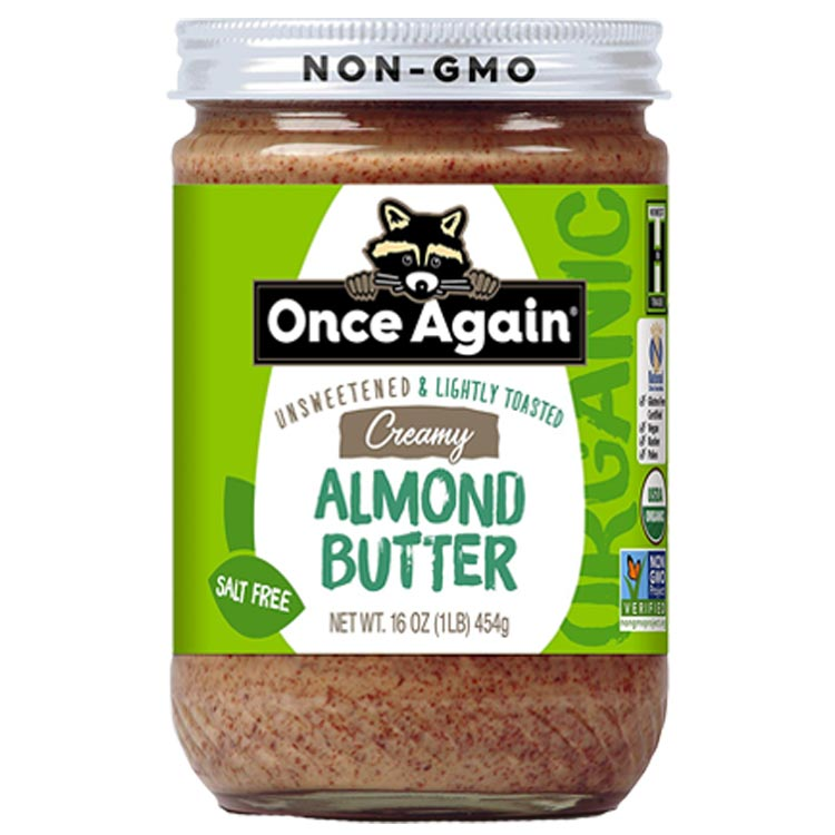 Once Again Creamy Almond Butter (Case of 12)