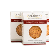 Case of Monks' Asiago Cheese Crisps (Case of 16 Boxes @ $3.90/ea)