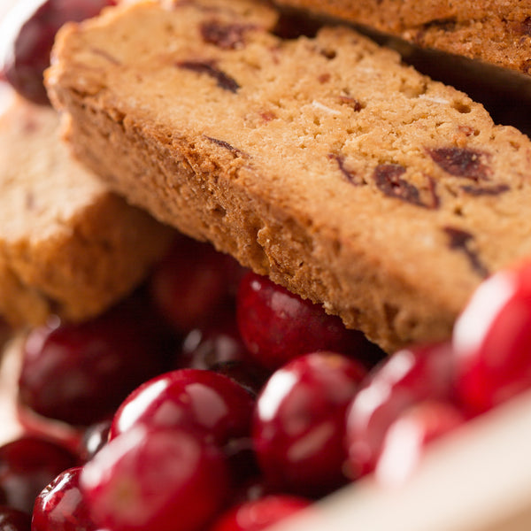 Monks' Cranberry Orange Biscotti