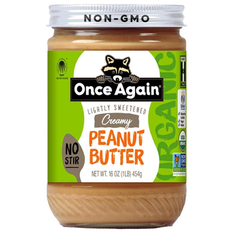 Once Again Creamy Peanut Butter (Case of 12)