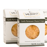 Case of Monks' Garlic Parmesan Cheese Crisps (Case of 16 Boxes @ $3.90/ea)