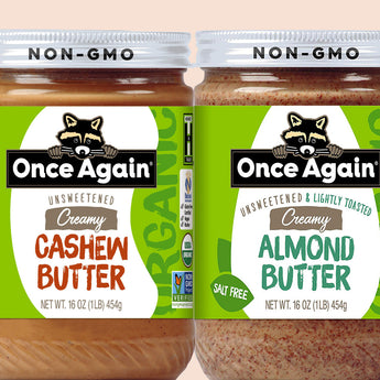 Once Again Nut Butter Bundle 6 Jars (your choice) | Shipping Included