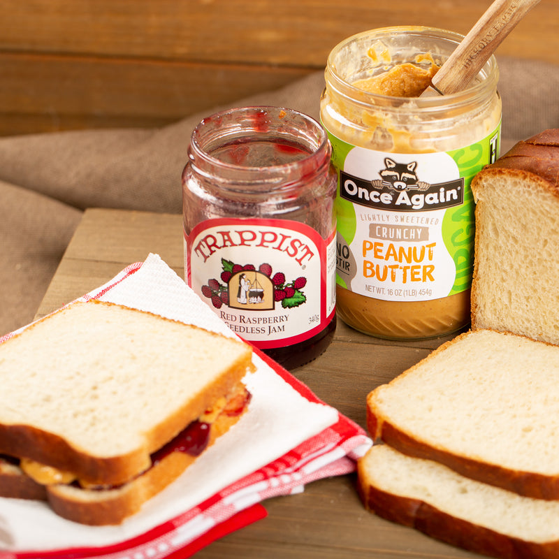 3 Bread 1 Jam 2 Peanut Butter (or Creamed Honey) Bundle